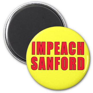 Impeach Governor Mark Sanford 6 Cm Round Magnet