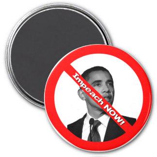 Impeach NOW! 7.5 Cm Round Magnet