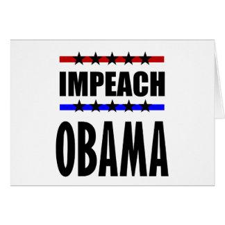 Impeach Obama Card
