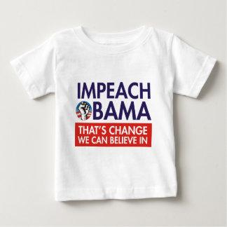 IMPEACH OBAMA CHANGE BABY T-Shirt