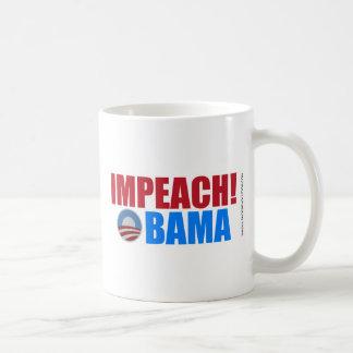 Impeach Obama Classic White Coffee Mug