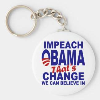 Impeach Obama Key Ring