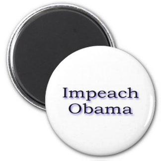 Impeach Obama 6 Cm Round Magnet
