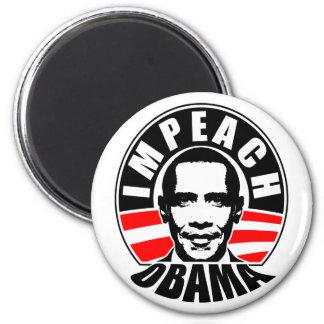 Impeach Obama Fridge Magnet