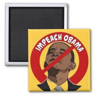 Impeach Obama Square Magnet