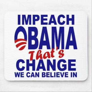 Impeach Obama Mouse Pad