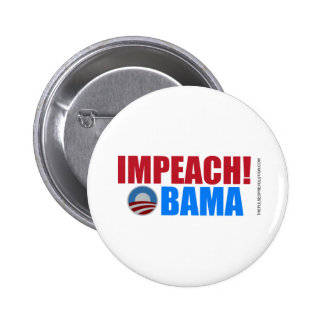 Impeach Obama Pinback Buttons