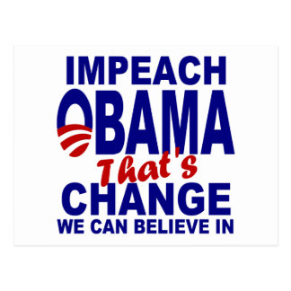Impeach Obama Post Cards