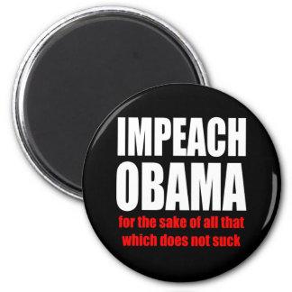 Impeach Obama Refrigerator Magnet