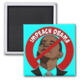 Impeach Obama Square Magnet