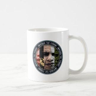 Impeach The Tyrant Basic White Mug
