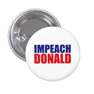 Impeach Trump 3 Cm Round Badge
