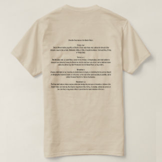 Impeach Trump Constitution T-Shirt