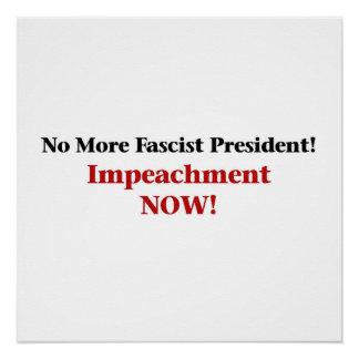 Impeach Trump Now Poster