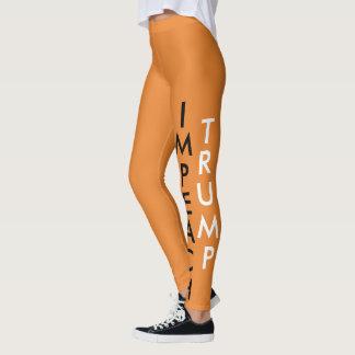 IMPEACH TRUMP ORANGE Leggings! Leggings