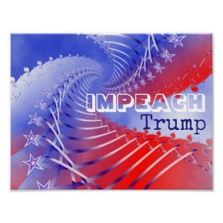 Impeach Trump Patriotic Poster