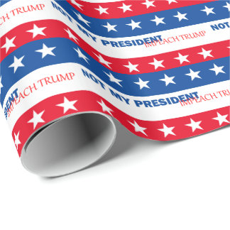 Impeach Trump Wrapping Paper