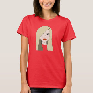 Imperfect beauty: The Girl ate the mall T-Shirt
