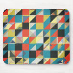 Imperfect Grid of Colours Mouse Pad