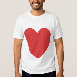 imperfect heart (red) t-shirt