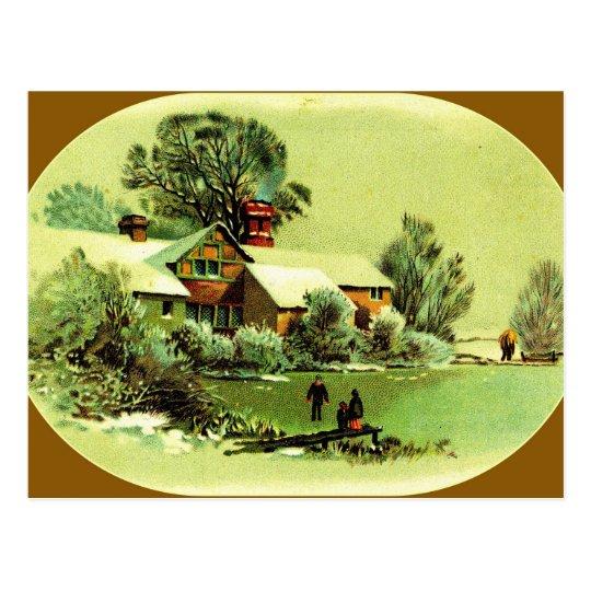 """""""Imperfect Landscape"""" Postcard"""