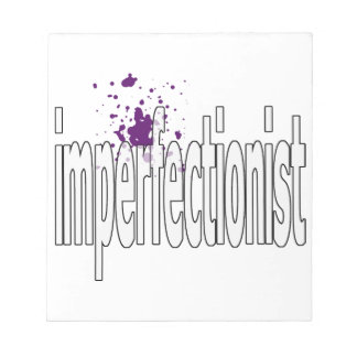imperfectionst memo notepad