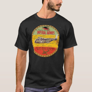 Imperial Airways flying boat T-Shirt