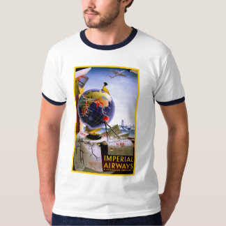 Imperial Airways Globe T-Shirt