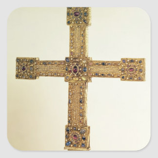 Imperial Cross of the Holy Roman Empire Square Sticker
