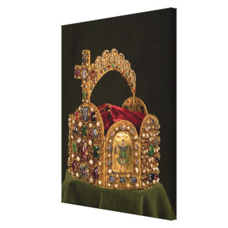 Imperial Crown made for the coronation of Otto Gallery Wrapped Canvas