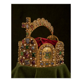Imperial Crown made for the coronation of Otto Print