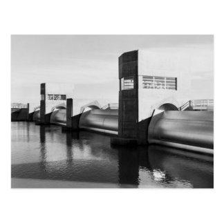 Imperial Dam: 1939 Postcard