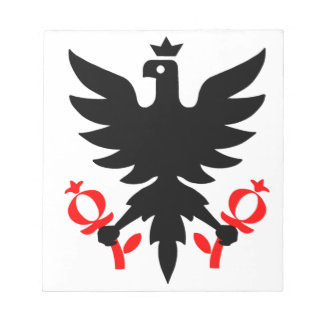 Imperial Eagle of the Seal of Bogota, Colombia. Notepad