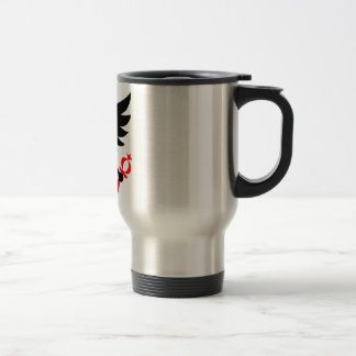 Imperial Eagle of the Seal of Bogota, Colombia. Travel Mug