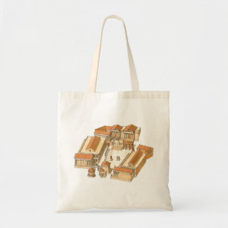 Imperial Forum. Rome. Aerial view Budget Tote Bag
