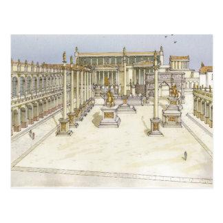 Imperial Forum. Rome Postcard
