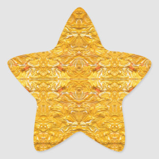 Imperial Golden-Yellow Pattern.jpg Star Stickers