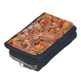 Imperial Ming Chinese Dragon Graphic Wallet