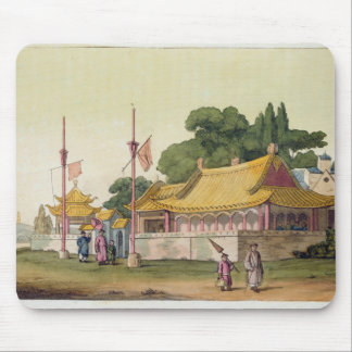 Imperial Palace, Tokyo, plate 54 from 'Le Costume Mouse Pad