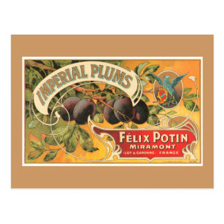 Imperial Plums Postcard