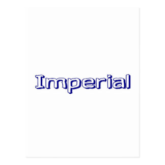 Imperial Postcard