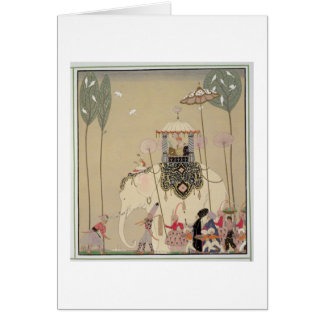 Imperial Procession (colour litho) Card