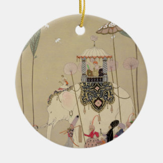 Imperial Procession (colour litho) Christmas Ornament