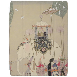 Imperial Procession (colour litho) iPad Cover