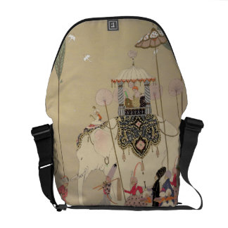Imperial Procession (colour litho) Courier Bags