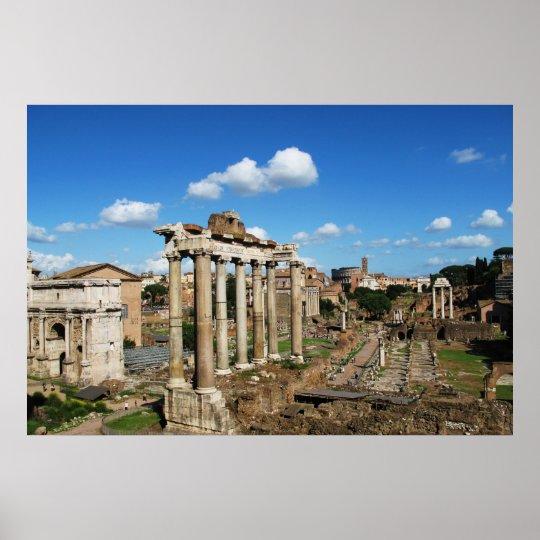 IMPERIAL ROMAN FORUM POSTER