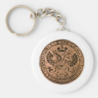 imperial seal basic round button key ring