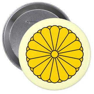 Imperial Seal Japan, Japan 10 Cm Round Badge