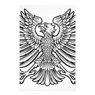 Imperial Style Eagle Stationery