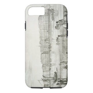 Imperial Winter Palace, St. Petersburg (litho) iPhone 8/7 Case